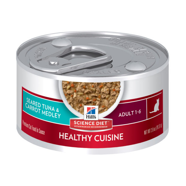 Hills Science Plan Feline Optimal Care Tuna and Carrot 79g stew