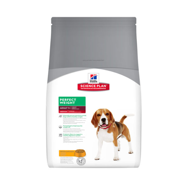 HILLS Science Plan Canine Perfect Weight Medium Breed Chicken