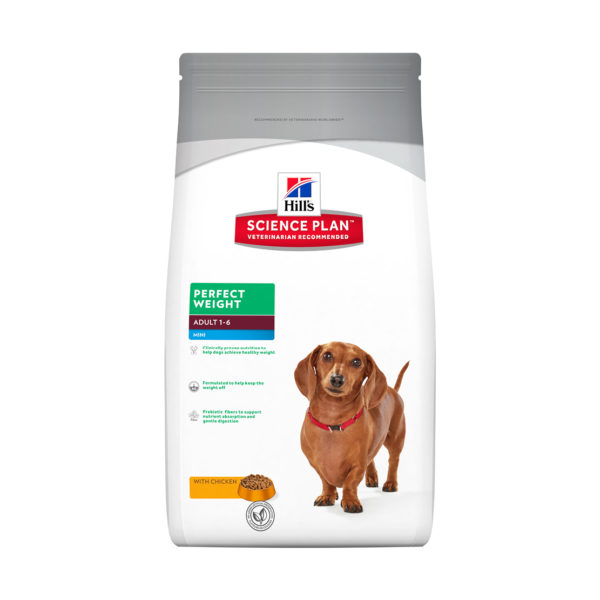 HILLS Science Plan Canine Perfect Weight Mini Breed Chicken