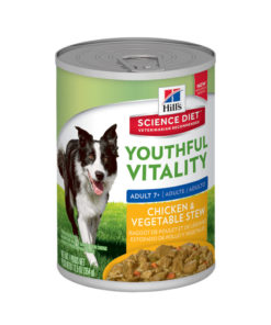 HILLS Science Plan Canine Youthful Vitality Chicken Stew