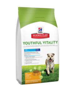 HILL Science Plan Canine Youthful Vitality Mini Chicken